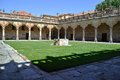 Patio of the Minor Schools in Salamanca Stock Image