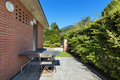 Patio of a modern house Royalty Free Stock Photo