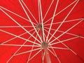 Patio Umbrella Royalty Free Stock Photo
