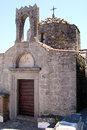 Patmos church Royalty Free Stock Photo