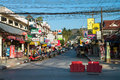 Patong ordinary street, Phuket, Thailand Stock Photography