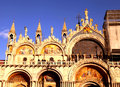 The Patriarchal Cathedral Basilica of Saint Mark,  Venice, Italy Royalty Free Stock Photo