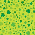 Grunge Clover Seamless 2 Royalty Free Stock Photo