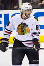 Patrick kane this image shows chicago blackhawks superstar during the nhl western conference finals at los angeles Royalty Free Stock Image