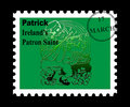 Patrick st pieczęć Fotografia Stock