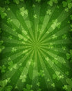 Patricks day background abstract green for st Royalty Free Stock Photo