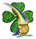 Patricks day symbols Royalty Free Stock Photography