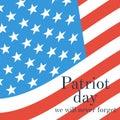 Patriot Day vector
