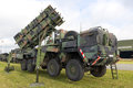 Patriot missile laage germany aug a german army mobile mim surface to air sam system on display during the laage airbase open Royalty Free Stock Image