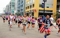 Patriot Runners Stock Photos