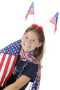 A Patriot's Hello Royalty Free Stock Images