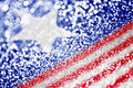 Patriotic American Flag Background Royalty Free Stock Photo