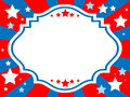 Patriotic background vector illustration of Royalty Free Stock Image