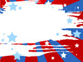 Patriotic background vector illustration of grunge Stock Photography