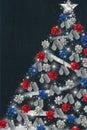 Patriotic Christmas Royalty Free Stock Photo