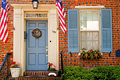 Patriotic doorway Royalty Free Stock Images