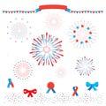 Patriotic fireworks