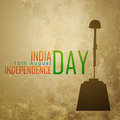 Patriotic indian design vector independence day background Stock Image