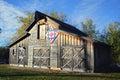 Patriotic Quilt Barn