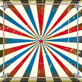 Patriotic square background a vintage poster for your advertising Royalty Free Stock Image
