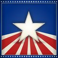 Patriotic USA background with stars and stripes Royalty Free Stock Photo