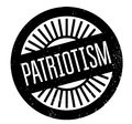 Patriotism rubber stamp