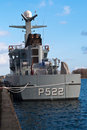 Patrol vessel Royalty Free Stock Photos