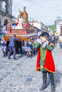 The patron saint of antigua procession guatemala july annual in guatemala on july every year antigua's turn to Royalty Free Stock Photos