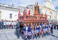 The patron saint of antigua procession guatemala july annual in guatemala on july every year antigua's turn to Stock Photography