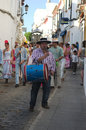 Patron saint celebrations these are the in carmona date st september place carmona sevilla event celebration Stock Photo