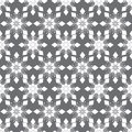 Pattern abstract background of gray and white geometric shapes Stock Photography
