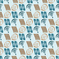 The pattern of abstract elements background vector illustration seamless Royalty Free Stock Images