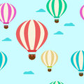 Pattern with balloons. Balloons
