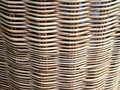 Pattern On Basketry Background.
