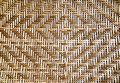 Pattern basketwork the bamboo background Stock Images