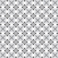 Pattern in black and white Royalty Free Stock Photos