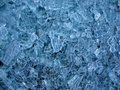 Pattern of broken glass Stock Images
