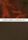 Pattern  brown leather pattern Royalty Free Stock Image