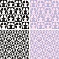 Pattern with butterflies vector illustration of seamless Royalty Free Stock Photography