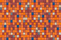 Pattern of colorful cargo shipping containers large Royalty Free Stock Photos