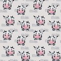 stock image of  Pattern with cow