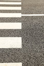 Pattern of crosswalk in city Royalty Free Stock Images