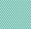 Pattern cyan volume scales