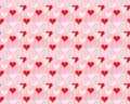 Pattern for Day of Valentine Stock Photography