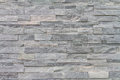 Pattern of decorative slate stone wall surface Royalty Free Stock Photo