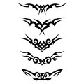 Tribal designs. Tribal tattoos. Art tribal tattoo. Vector sketch of a tattoo.
