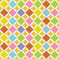 Pattern diamonds seamless Stock Image