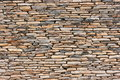 Pattern dry stone wall Royalty Free Stock Photos