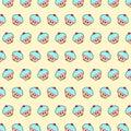 Cupcake - emoji pattern 11