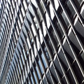 Pattern of facade, modern building Royalty Free Stock Photos